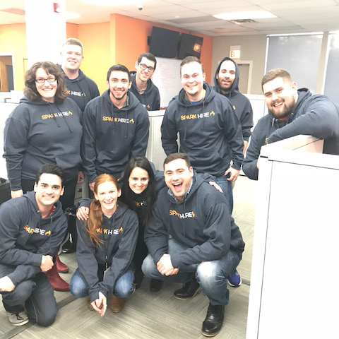 Spark Hire Hoodies