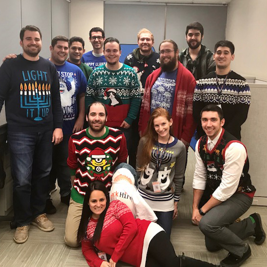 Spark Hire Ugly Sweater