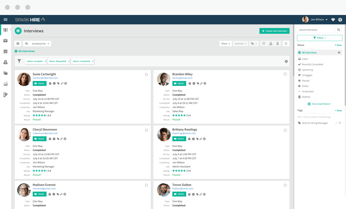Video Interview Platform