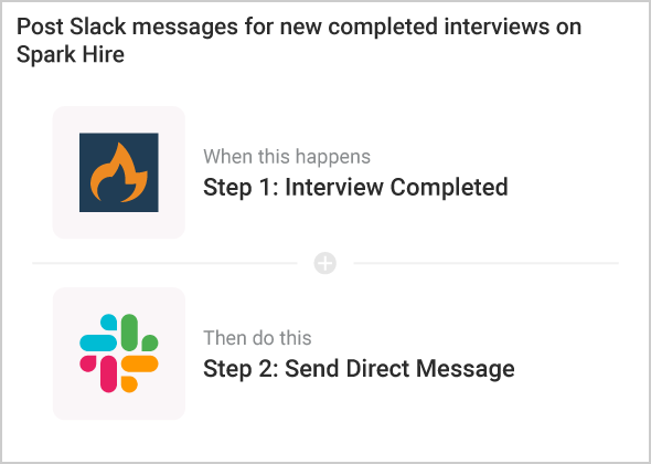 Ask candidates to your complete video interviews