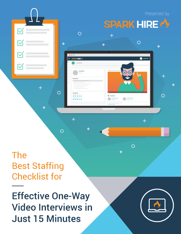 The Best Staffing Checklist for Effective One-Way Video Interviews in Just 15 Minutes