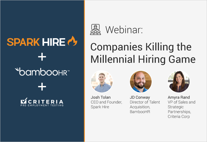 Companies Killing the Millennial Hiring Game