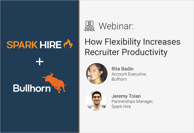 How Flexibility Increases Recruiter Productivity