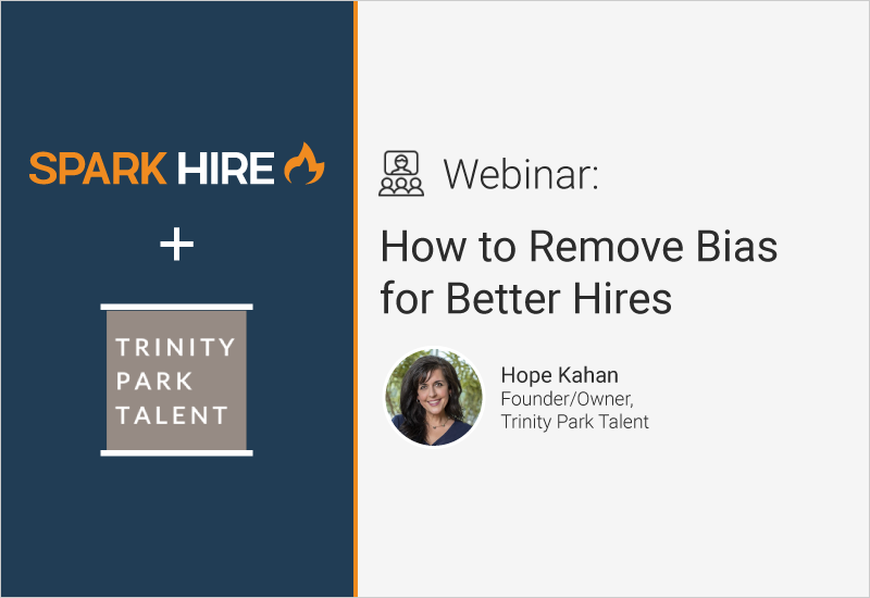 How to Remove Bias for Better Hires