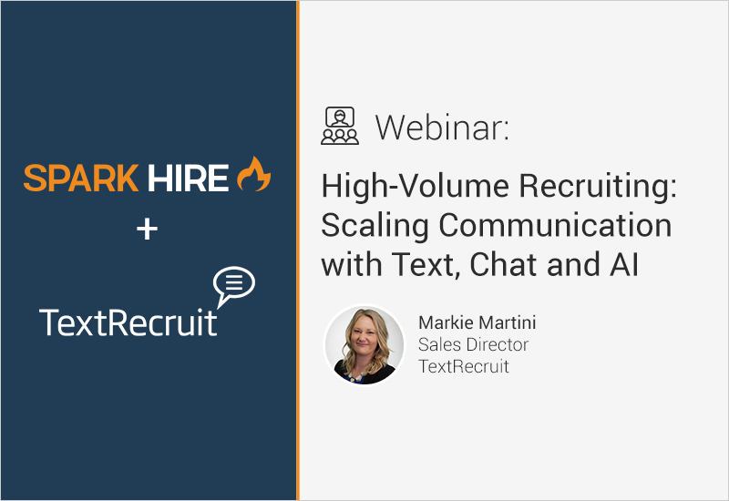 High-Volume Recruiting: Scaling Communication with Text, Chat and AI