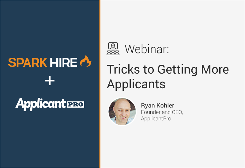 Tricks to Getting More Applicants