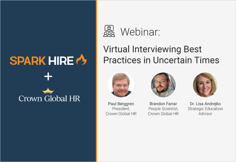 Virtual Interviewing Best Practices in Uncertain Times